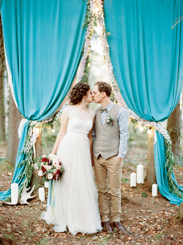 свадьба в лесу спб