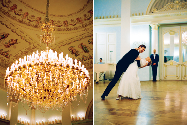wedding in yusupov palace