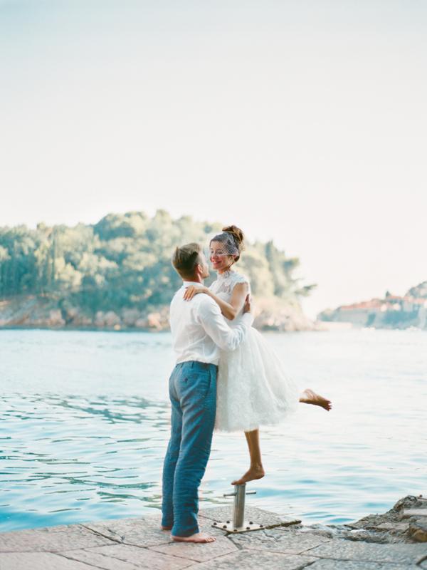 свадебный день в черногории