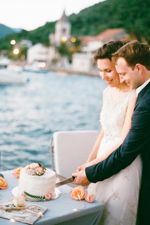 торт на свадьбу Черногория