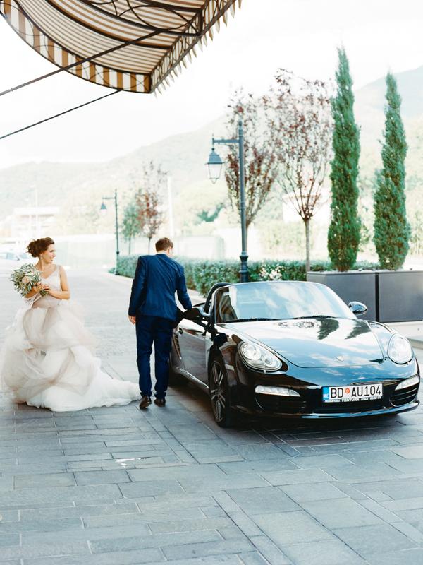 автомобиль на свадьбу Черногория