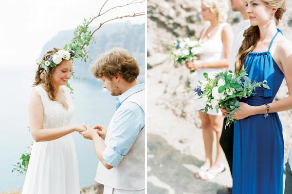 wedding on film