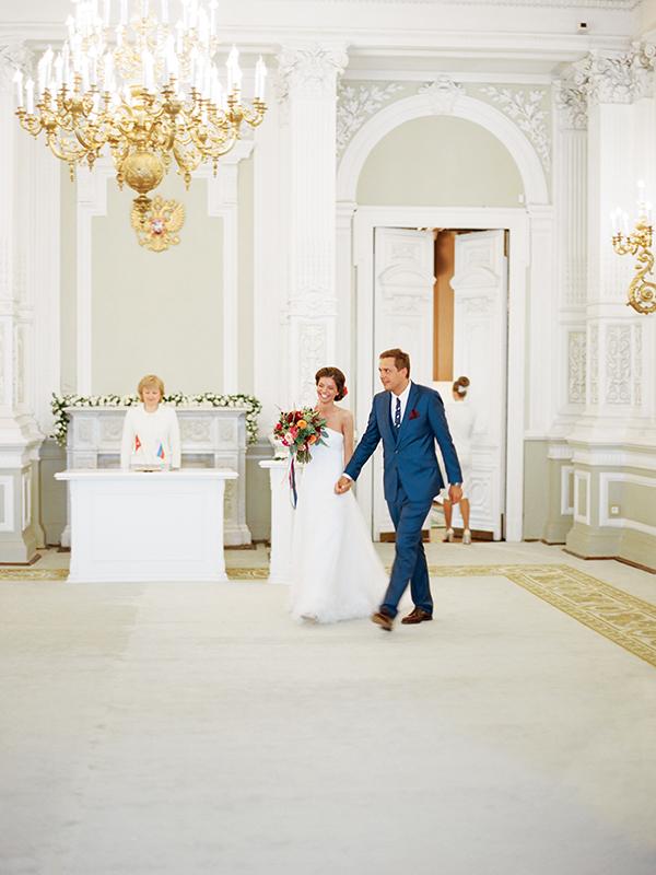 церемония во дворце
