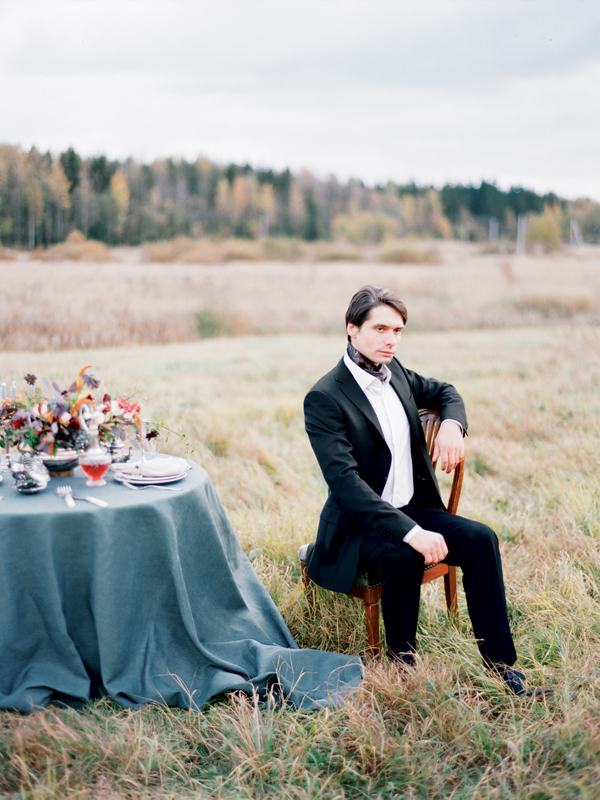 стильная русская свадьба