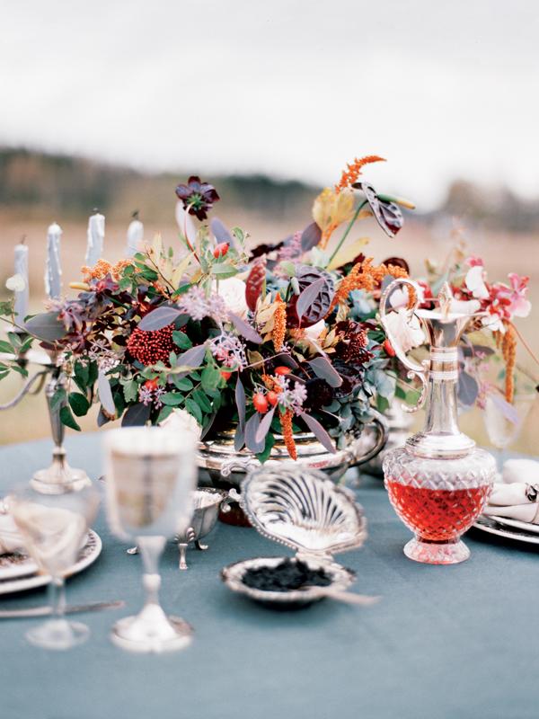 декор на свадьбу в русском стиле