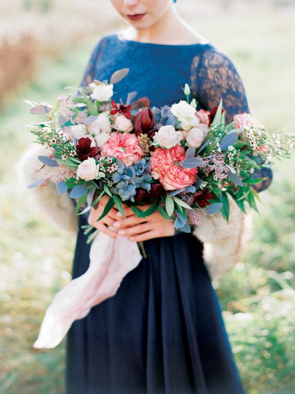 свадебный букет оксана шальнева